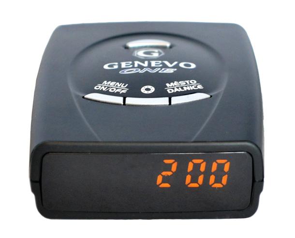 Antiradar Genevo One CZ/SK